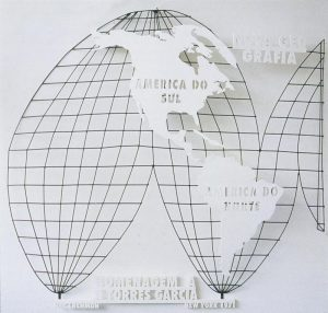 Rubens Gerchman, A Nova Geografia / Homenagem a Torres-García (The New Geography / Homage to Torres-García), 1971-79. Image courtesy of Instituto Rubens Gerchman licensed by inARTS.com.