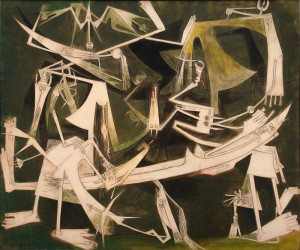 The Third World (1965),  Wifredo Lam, oil on canvas, Museo Nacional de Bellas Artes de La Habana