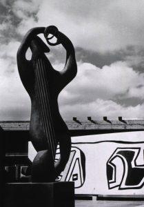 L'Amphion (1937/1952), Henri Laurens, Ciudad Universitaria in Caracas. Photo: Photographer unknown. Source: