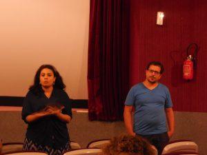 Roua Krimi and Mohamad Frini (Foto: Anne-Linda Amira Augustin)
