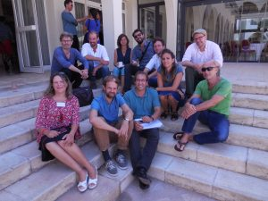 The Tutors of the Summer Academy Tunis 2016 (Photo: Anne-Linda Amira Augustin)