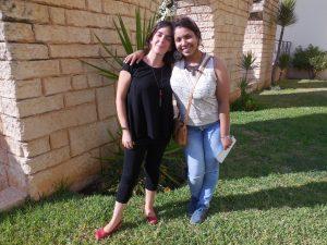 Valentina Marcella and Tunisian rapper Medusa (Photo: Anne-Linda Amira Augustin)